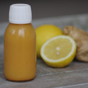 Lemon, Ginger and Turmeric Health Shot