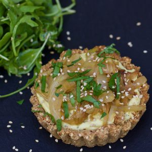Caramelised Fennel and Onion Tart